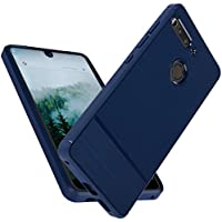 Essential Phone Case,Premium Flexible TPU Rubber Slim Fit Case Scratch Resistance Shockproof Protective Back Cover for Essential PH-1 (Blue)