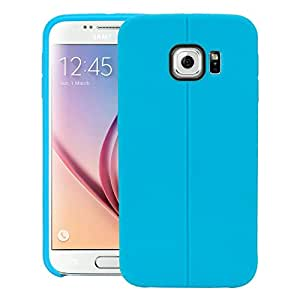 Swan Case For Samsung Galaxy S6 duos Rugged Capsule Cover - Blue
