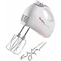Moulinex Prep'Line Sbattitore prepline 5 velocità 450w hm410 Pentole Cucina, 450 W, Bianco