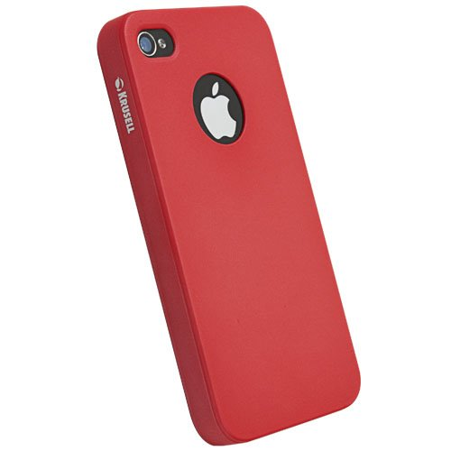 Krusell ColorCover für Apple iPhone 4S gelb rot