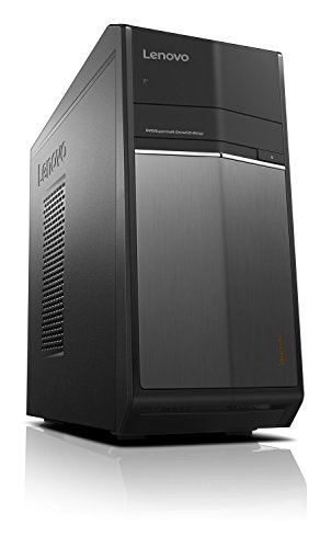 Lenovo ideacentre 710 Desktop-PC (Intel Core i5-6400 Quad-Core, 16GB RAM, 512GB SSD, 1TB HDD, Nvidia GeForce GTX1060, DVD-Brenner, Windows 10 Home) schwarz