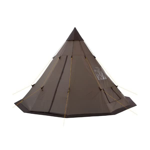 CampFeuer - Teepee Tent, Tipi brown 2