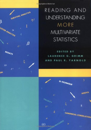Reading and Understanding More Multivariate Statistics: