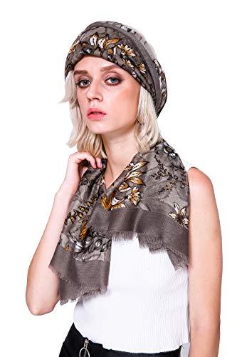 Longwu Idea regalo per le signore Sciarpa lunga cotone Sciarpe da donna Fazzoletto da passeggio estivo fazzoletto da collo estivo Primavera Autunno