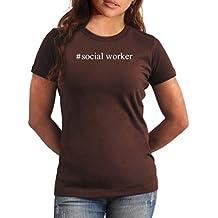 Camiseta de Mujer #Social Worker Hashtag