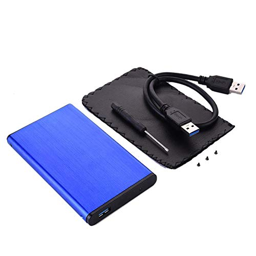 "2.5\"" Hard Disk Case Aluminium Alloy Hard Drive Case USB3.0 SATA3.0 External HDD Enclosure Supports 3TB Transmission UASP Protocol"