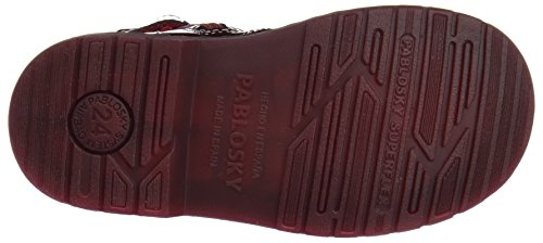 Pablosky 448669, Bottines fille Rouge (Rouge)