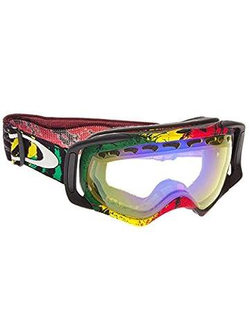 Oakley Crowbar Goggles Ski Snowboard Eyewear Optics Mens Womens - New . Colour: Tanner Hall Rasta Mane w/ H.I. Yellow