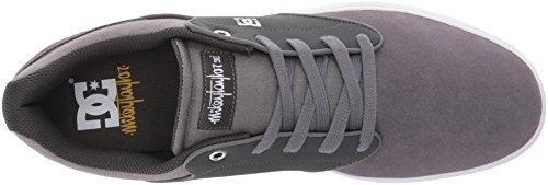 Dc Mikey Taylor Skate Shoe, Noir / Gomme, 10.5 M Us Grau / Gomme