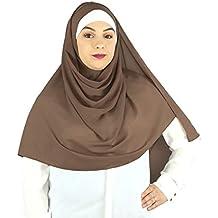 ab806e57ec6 SAFIYA - Hijab foulard à enfiler pour femme I Turban pret a porter voile  musulmane pashmina