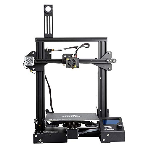 Comgrow Creality Ender 3 Pro 3D Printer with Megnetic Hot Bed Sticker & UL Certified Power Supply Device -