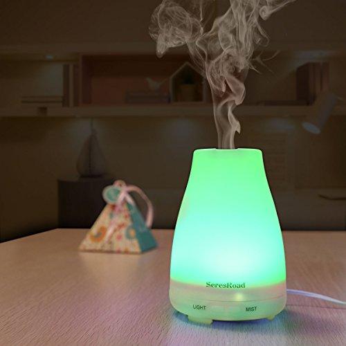 Aroma Diffuser Luftbefeuchter mit LED Farbwechsel ohne Lärm - 8