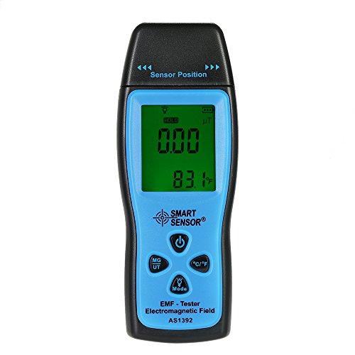 Docooler Handheld Elektromagnetischer Strahlungsdetektor Mini Digitaler Strahlungstester LCD EMF Tester Elektromagnetisches Feld Strahlungsdetektor Meter Dosimeter Tester Zähler Emf-tester