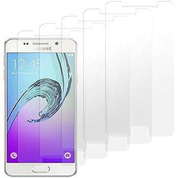 Samsung Galaxy A3 (2016) Displayschutzfolie - 5 Stück - moodie Premium Folien Kristallklar mit Anleitung für Samsung A3 2016
