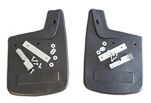 2 x Schmutzfänger / Spritzlappen 370 x 250mm Fiat DUCATO für hinten