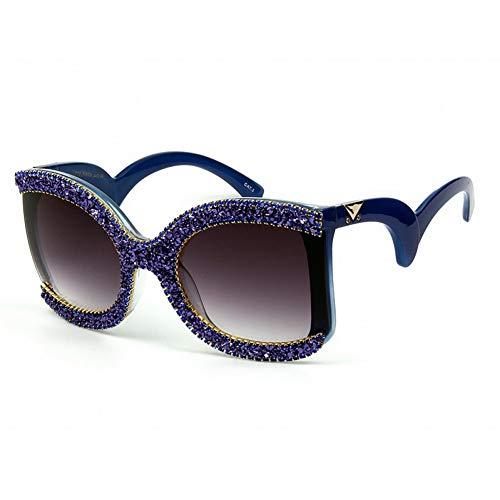Taiyangcheng Polarisierte Sonnenbrille Sonnenbrille Frauen Markendesigner Schmetterling Vintage Männer Sonnenbrille Mode Shades Für Frauen,Navy blau