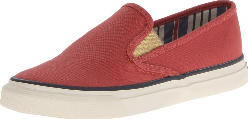 Sperry Athletic Sneakers (Sperry top-Sider Damen Mariner WH Fashion Sneaker, Rot (rot), 36.5 B(M) EU)
