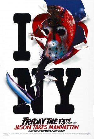rt VIII Jason Takes Manhattan - U.S Movie Wall Art Poster Print - 43cm x 61cm / 17 Inches x 24 Inches A2 ()