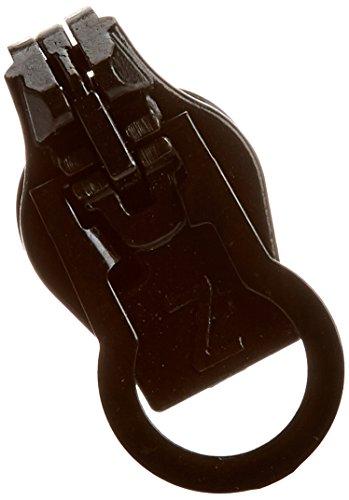 ZlideOn-Ersatz-Schieber 8B für breite Reißverschlüsse (Kunststoff und Metall), 7,60-7,9mm, Schwarz (1 Stück Blouson)