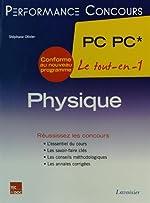 Physique 2e année PC PC* de Stéphane Olivier