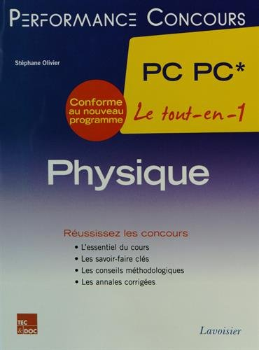 Physique 2e année PC PC*