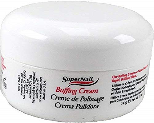 SUPER NAIL Buffing Cream 0.5 oz (Pack of 3) by SuperNail (English Manual)