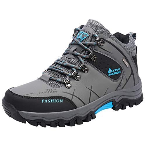 Fenverk Herren Turnschuhe für Männer Herren Vojo Hike 2 Texapore Low M Wasserdicht Trekking-& Wanderhalbschuhe 35-47 (Grau,44 EU)
