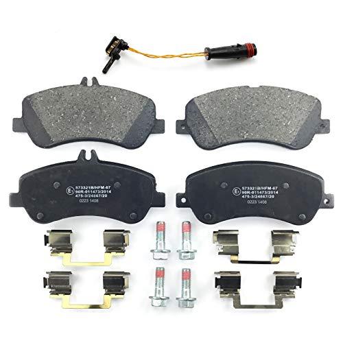 NB PARTS GERMANY 10046499 Plaquettes de frein + Contact Avertisseur avant