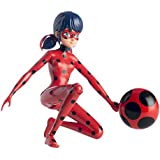 Bandai - Figura Ladybug Salta y Vuela, 19 cm (39731)