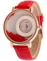 Swadesi Stuff Stylish Leather Watch For Girls/Women