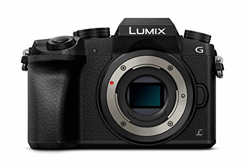 Panasonic LUMIX G DMC-G70EG-K Systemkamera (16 Megapixel, OLED-Sucher, Hybrid Kontrast AF, 7,5 cm OLED Touchscreen, 4K Foto und Video, WiFi) schwarz -