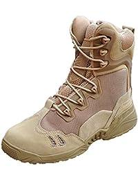 QIKAI Stivali Tattici Impermeabili Magnum Ultralight Stivali da  Combattimento Forze Speciali Stivali Militari Uomini Primavera E 441f52dd619