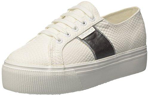 Superga Damen 2790 Pusnakew Sneaker, Weiß (White), 41 EU
