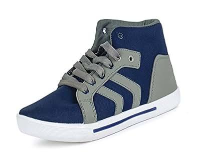 Earton Men's Grey Sneakers - 8 UK/India (42 EU)(ORIFWSH-W-314)