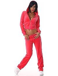 Jela London - Ensemble sportswear - Uni - Manches Longues - Femme