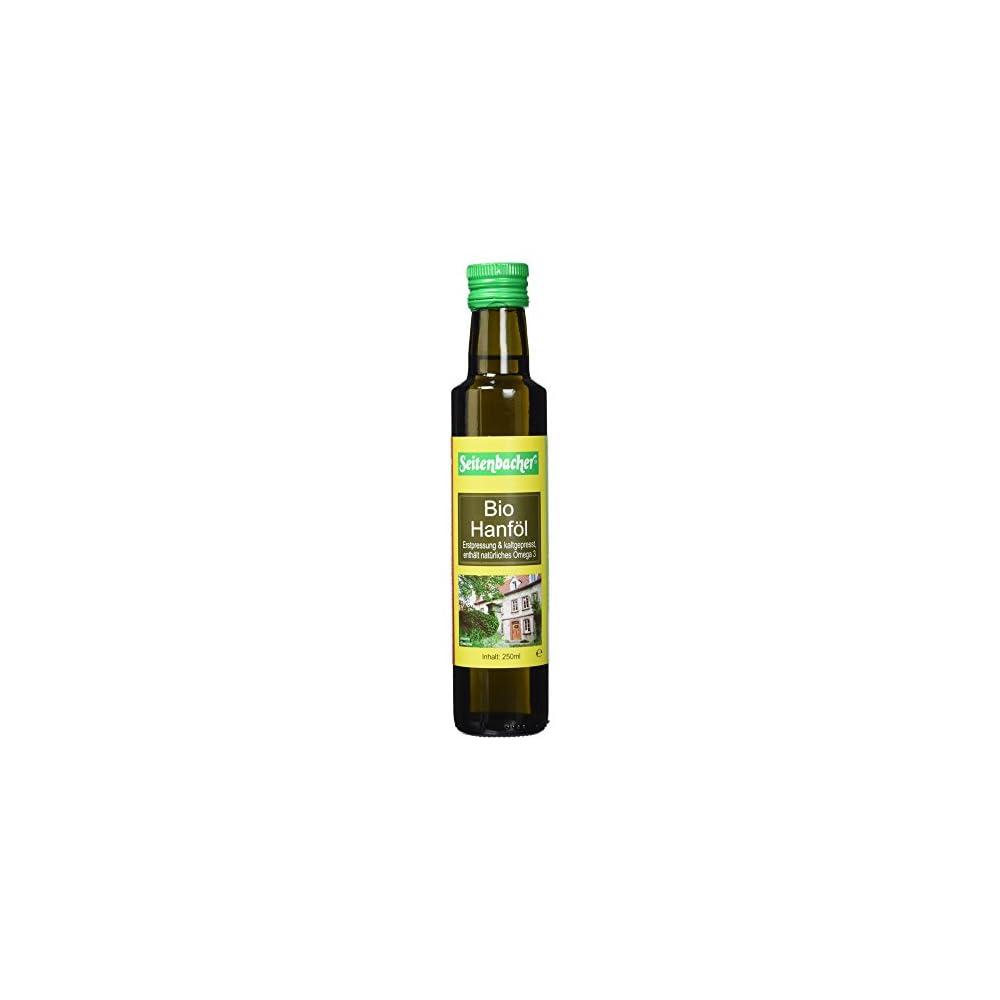 Seitenbacher Bio Hanf L Rein Nativ Kaltgepresst1 Pressung 1er Pack 1 X 250 G