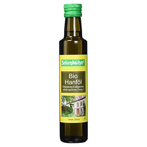 Image of Seitenbacher Bio Hanf Öl rein nativ, kaltgepresst/1 Pressung, 1er Pack (1 x 250 g)