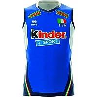 Maillot Errea authentique Italie volley Bleu 2017/2018