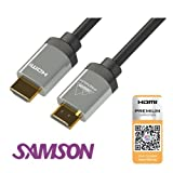 Samson Premium Certified 4K HDMI Cable HDCP2.2 HDR 18Gbps 6G Ethernet 3D (2.0m)