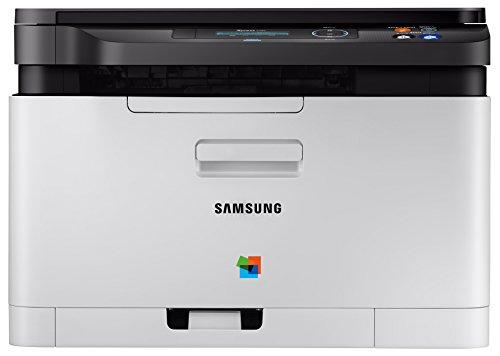 Samsung Xpress SL-C480/TEG Farblaser-multifunktionsgerät (mit ReCP-Technologie für brillante Ausdrucke) schwarz/weiß