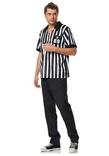 Leg Avenue Uomini Arbitro costume, 1 pezzo