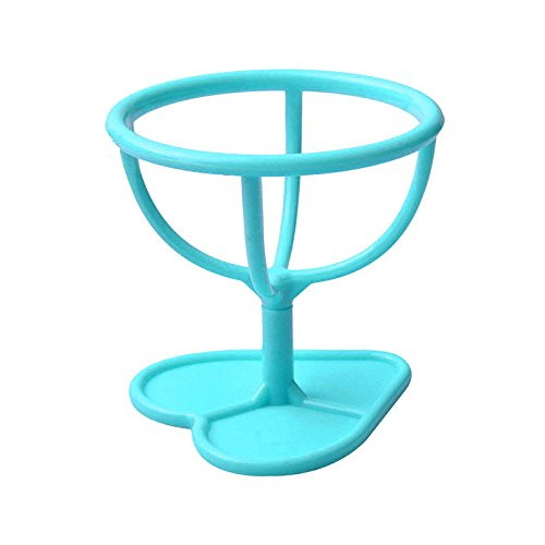 Merssavo 1 pièce Maquillage Sponge Blender Holder Sponge Support Maquillage Sponge Drying Rack