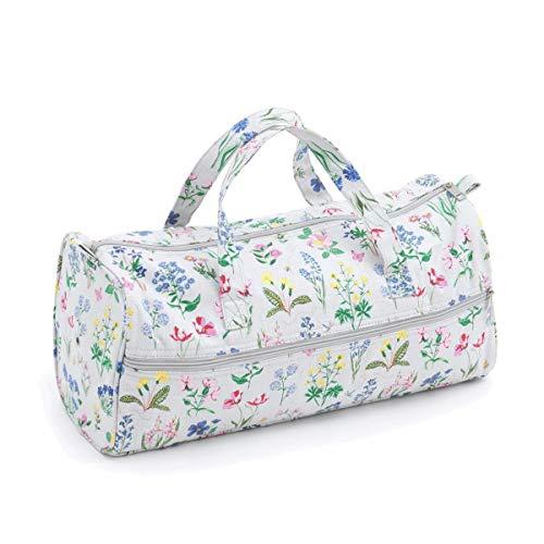 Tissu Sac à tricoter (Poignées) - Spring Garden | Hobby Gift Mr4698 \ 272 | 15 x 42 x 17 œ cm
