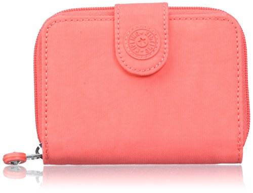 Kipling Damen New Money Geldbörse, Orange (Galaxy Orange), 9.5x12.5x0.1 cm (Orange Damen-geldbörse)