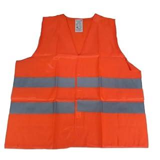 Warnweste, Pannenweste – Orange - Material: 100% Polyester - DIN EN 471
