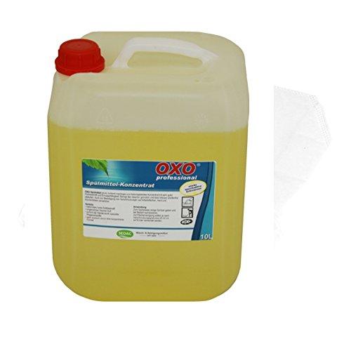 Konzentrierte Geschirrspülmittel (Spülmittel, Handspülmittel, Geschirrspülmittel Konzentrat 10 L Kanister)