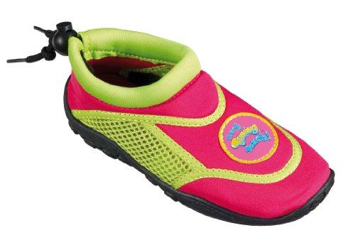 Beco enfants surf et chaussures de bain 92171Multicolore (Rouge/Vert) Timmy Pink