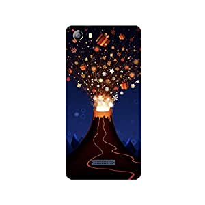 Cell Planet's High Qaulity 3D Designer Back Cover for Micromax Canvas 5 (E 481)
