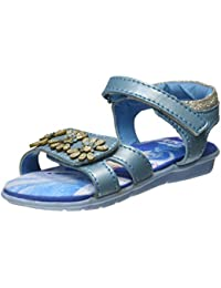 Disney Girl's Crytsal Blue Indian Shoes - 5 Kids UK/India (23 EU)(1710062)