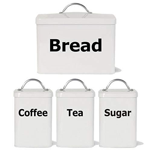 Waofe Küche Etiketten Aufkleber Aufkleber, Tee Kaffee Zucker Brot Jar Bin KanisterDecals Aufkleber Für Die Küche -